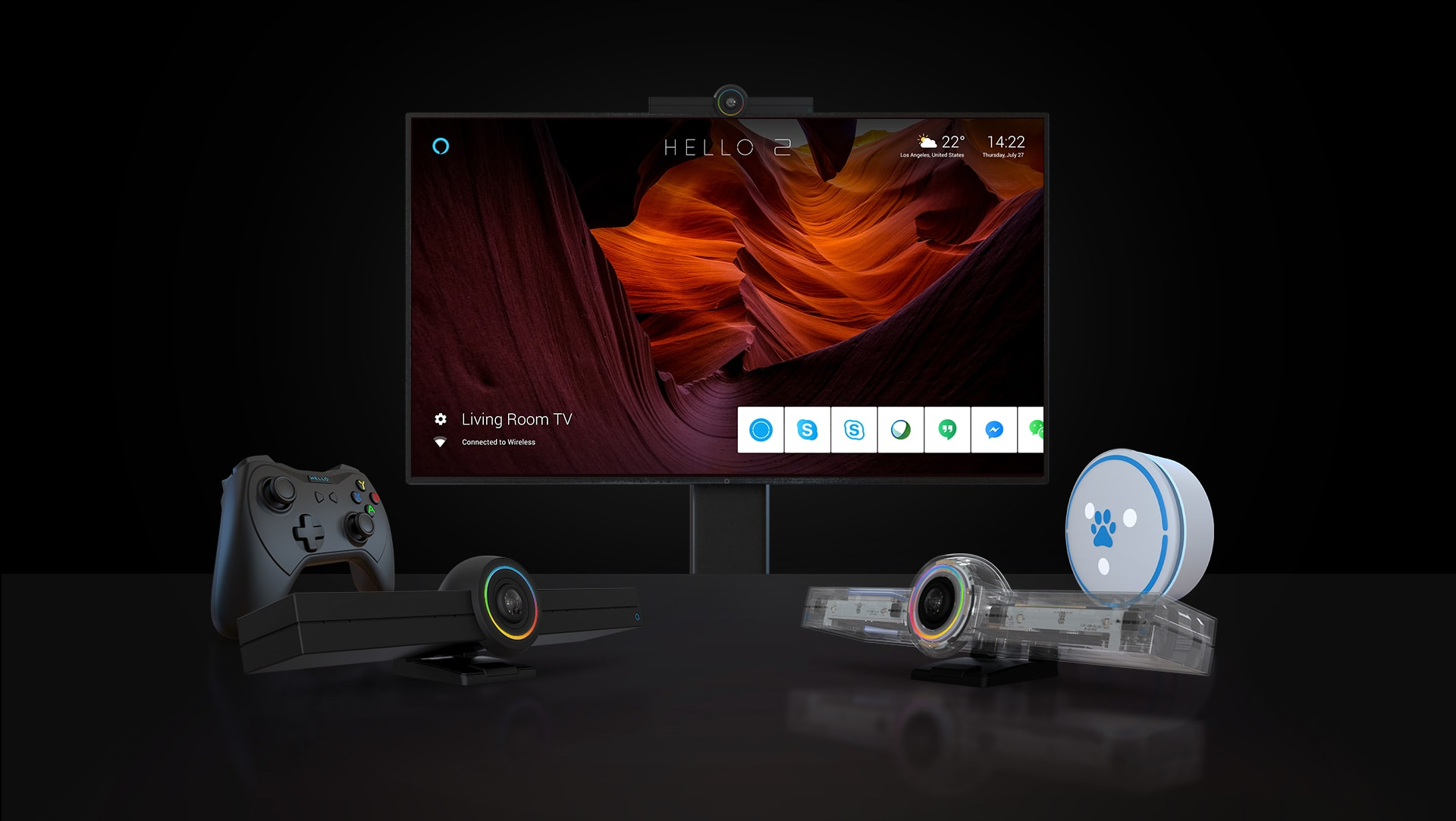 HELLO 2 — The World's Most Powerful Video Communication Device